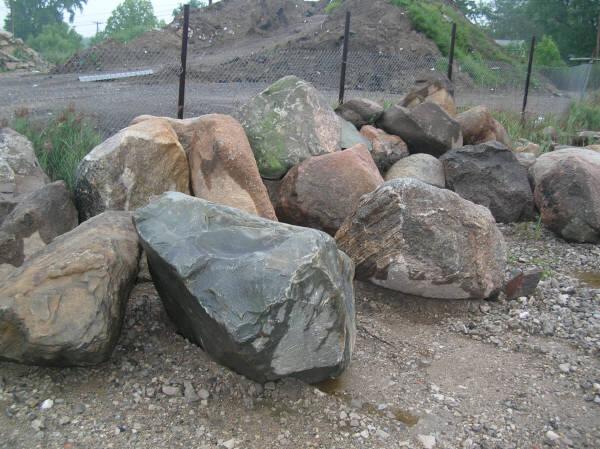 Image result for granite boulders for landscaping
